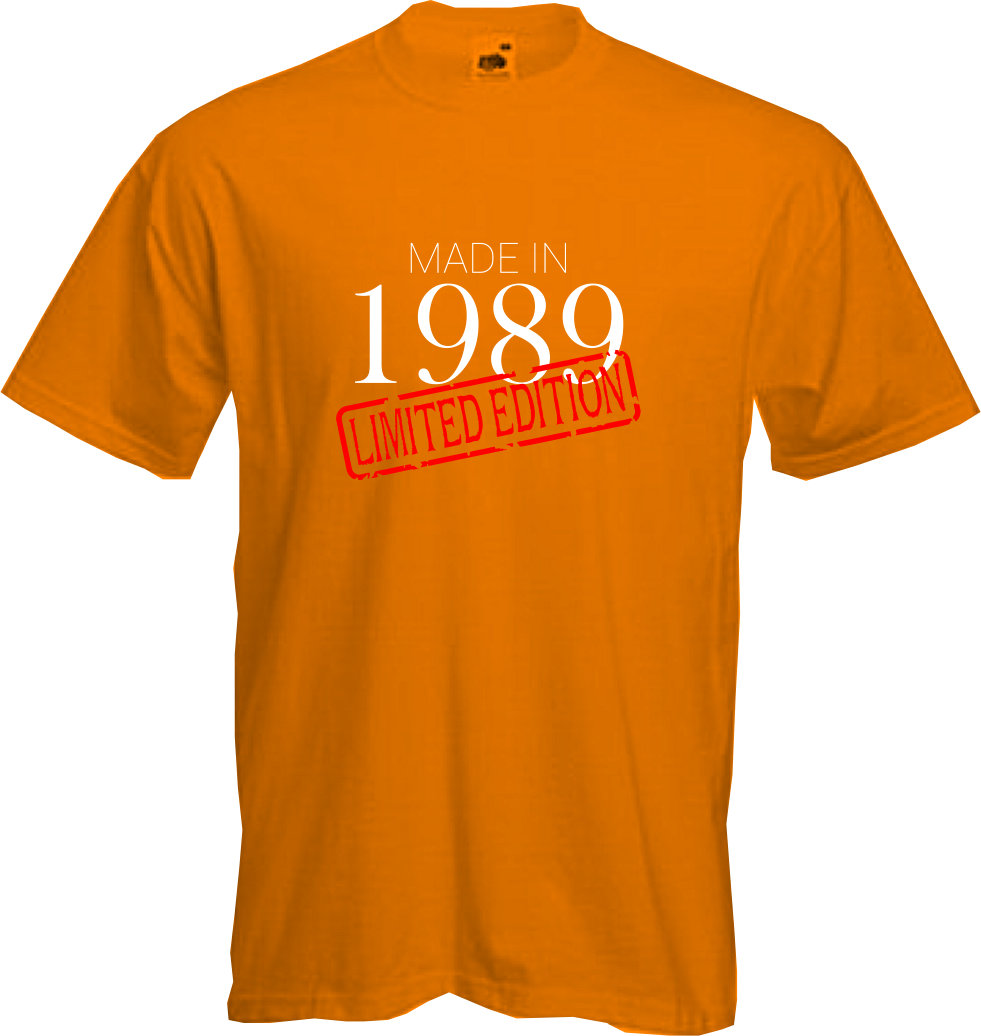 MADE-IN-LIMITED-1989-T-Shirt-30th-BIRTHDAY-2019-Fun-Present-Gift-NEW thumbnail 10