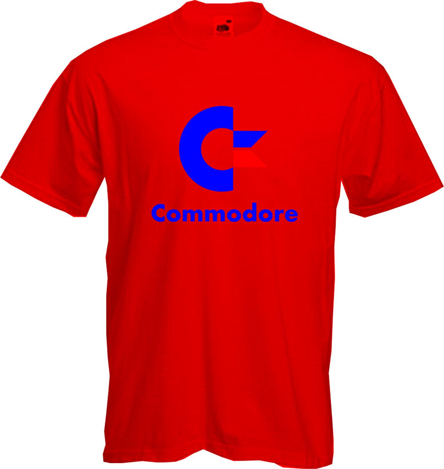 Commodore T Shirt Computer Geek Retro 64 Pet Cool