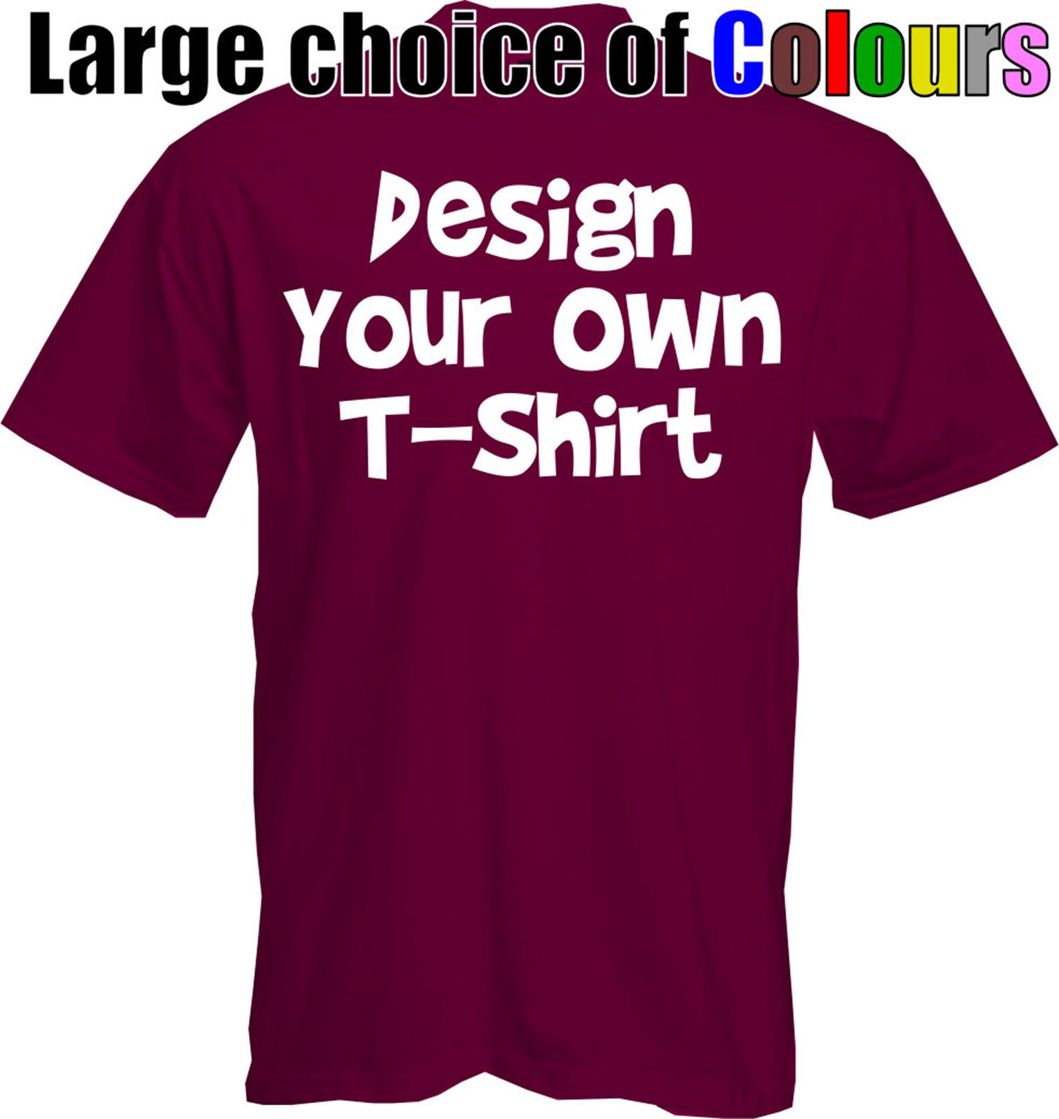 DESIGN-YOUR-OWN-T-Shirt-CUSTOM-Unique-Discount-Cheap-Special-Quality