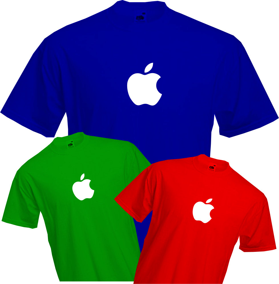 T Shirt Apple Geek Ipad Iphone Mac Macintosh Quality T