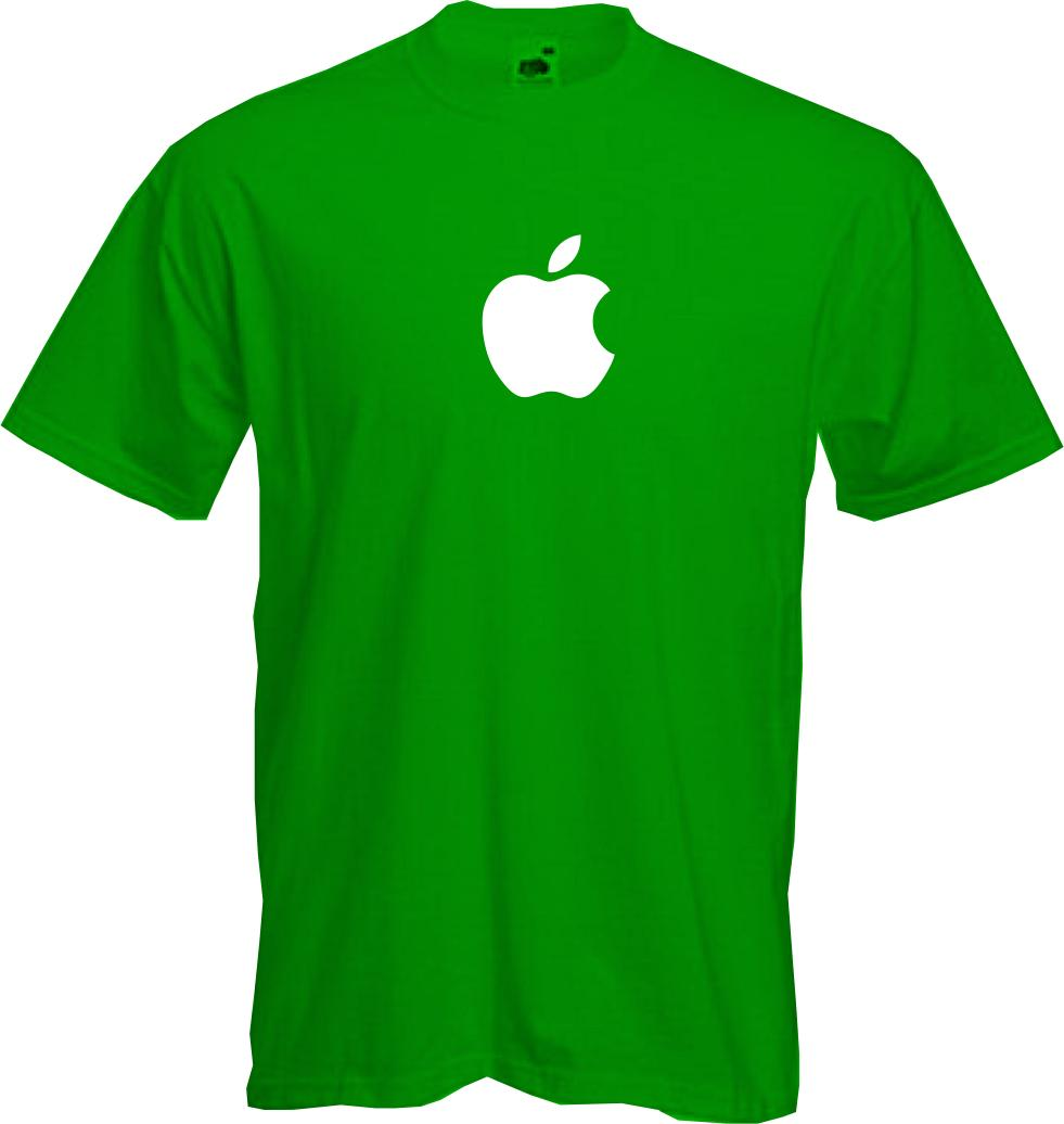 android green robot logo in style of apple fun copy