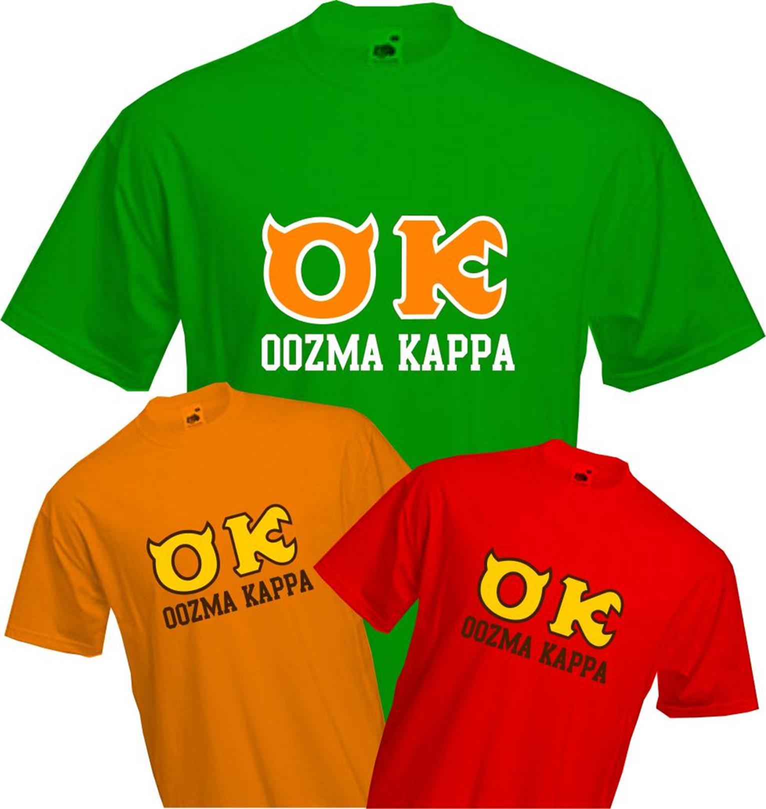 Monsters University Oozma Kappa T Shirt Monsters Inc Quality New Ebay
